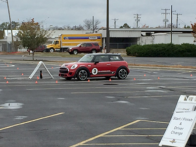 Driving the Mini Cooper 2 - Indiana 2015