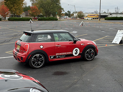 Driving the Mini Cooper - Indiana 2015