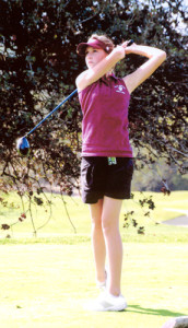 Kim Bergin Golf Shot